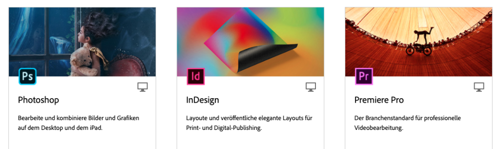 Adobe Programme