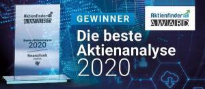 Beste Aktienanalyse 2020 - Aktienfinder Award