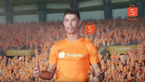 Ronaldo wirbt für Shopee