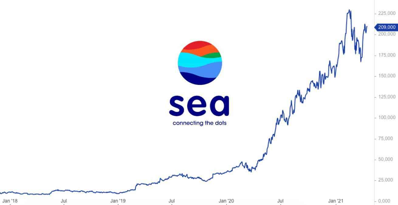 Sea Limited Aktie Analyse 2021 Prognose und Kursziel