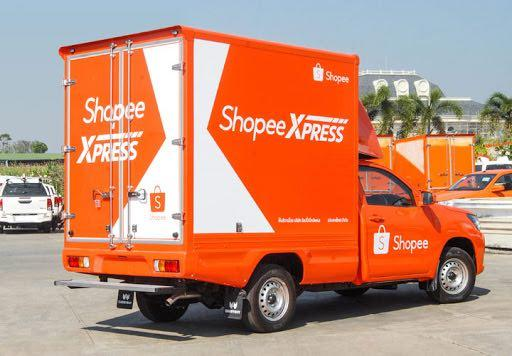 Shopee Lieferwagen