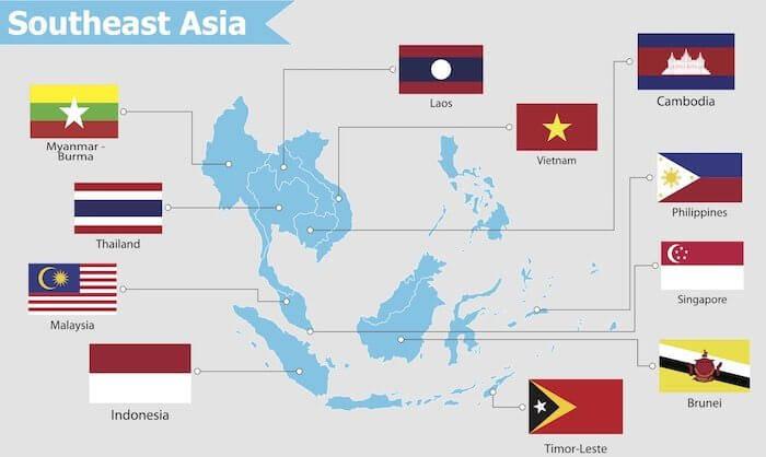 Südostasien - einzelne Länder