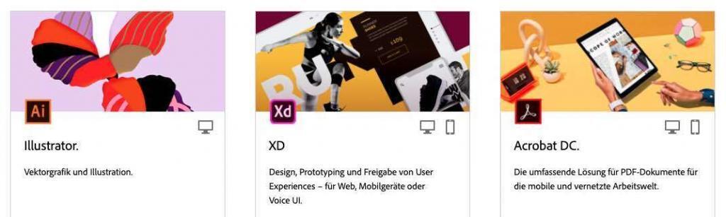 Adobe Inc. Anwendungen 2/2