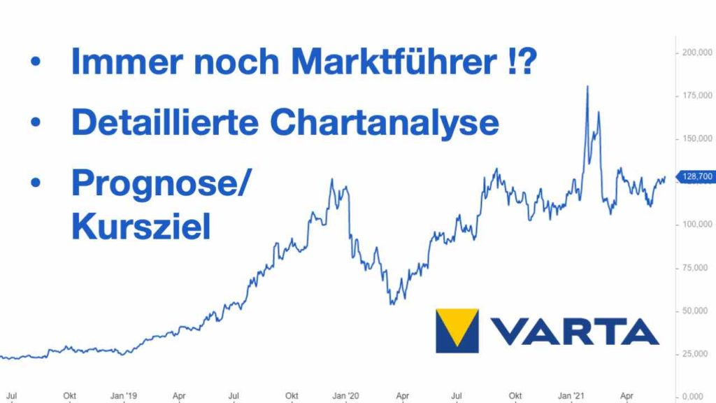 Varta Aktie Analyse 2021 - Update: Aktuelle Situation, Prognosen und Kursziele